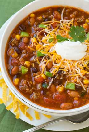 Warm up with Alisa's Taco Soup recipe!