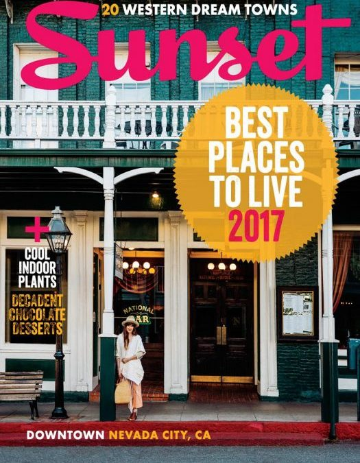 Best Place To Live 2017 – Nevada City
