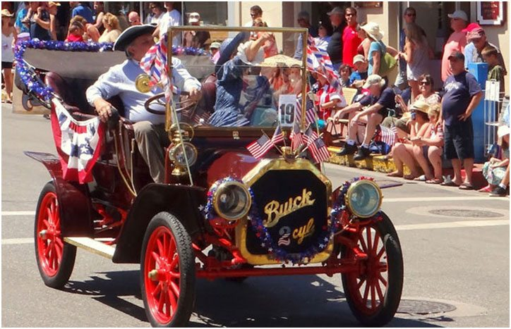 Celebrate July 4th Independence Day in Grass Valley