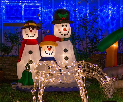 Best Holiday Light Displays In Nevada County!