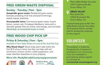 Nevada County Green Waste Disposal