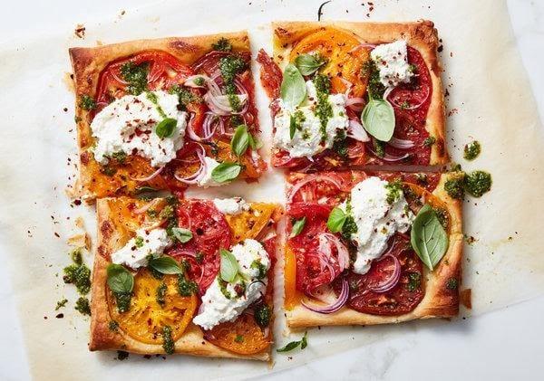 Roasted Tomato Tart Recipe